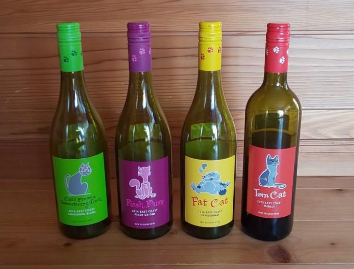ニュージーランドワイン「キャット・シリーズ」をテイスティングしました。