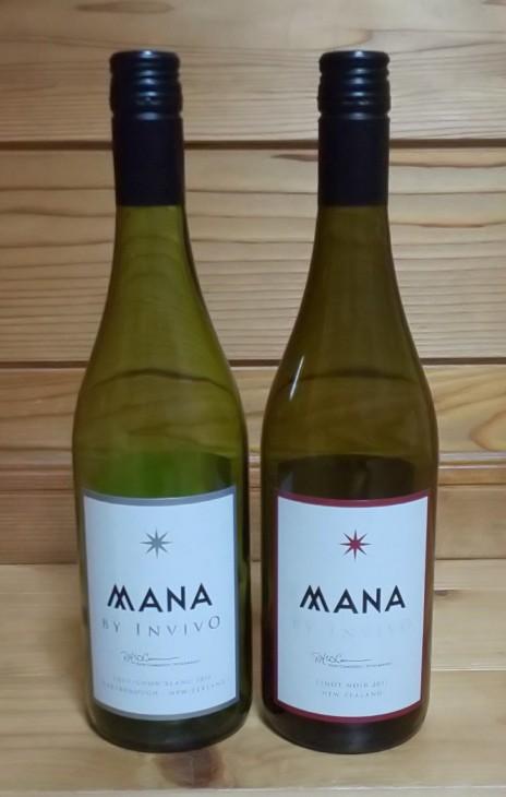 ニュージーランドワイン「マナ バイ インヴィーヴォ」をテイスティングしました。