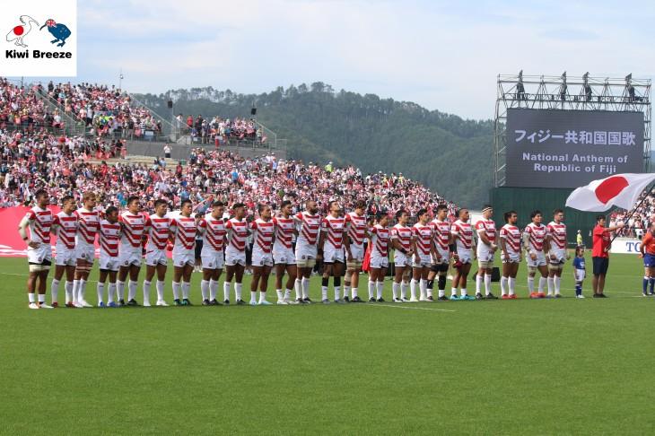 リポビタンDチャレンジカップ  パシフィックネーションズ2019 日本ラウンド 第1戦 日本代表 vs フィジー代表