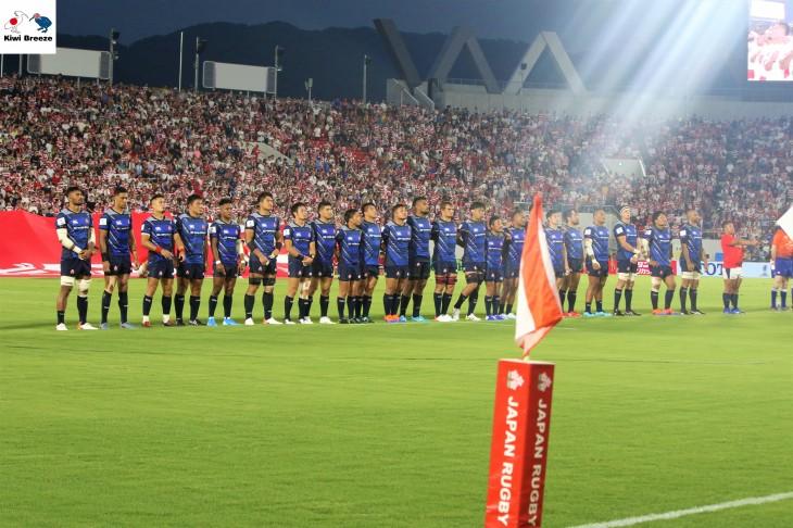 リポビタンDチャレンジカップ パシフィックネーションズ2019日本ラウンド 第2戦 日本代表 vs トンガ代表