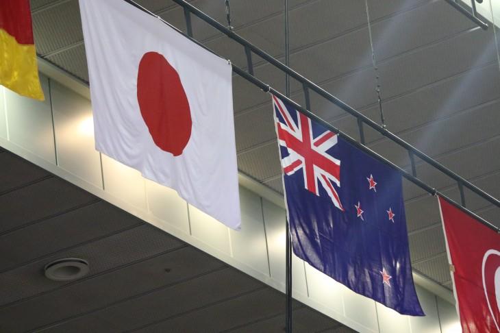 バスケットボール男子 日本代表 vs ニュージーランド代表 in 千葉ポートアリーナ