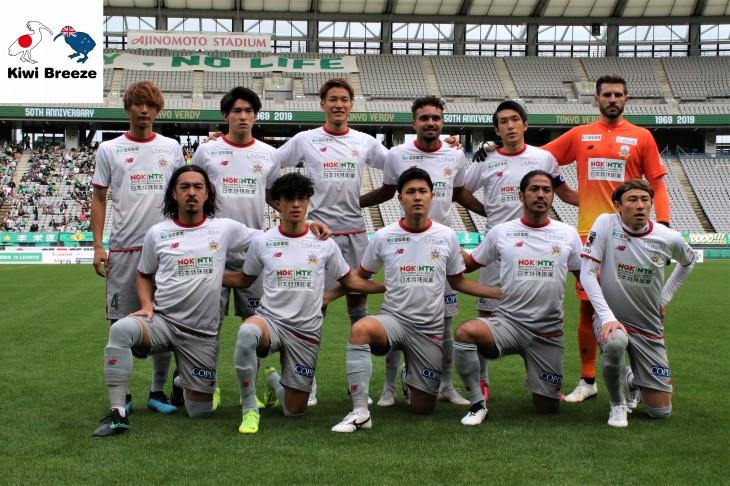 明治安田生命J2リーグ 第42節 東京ヴェルディ vs FC岐阜