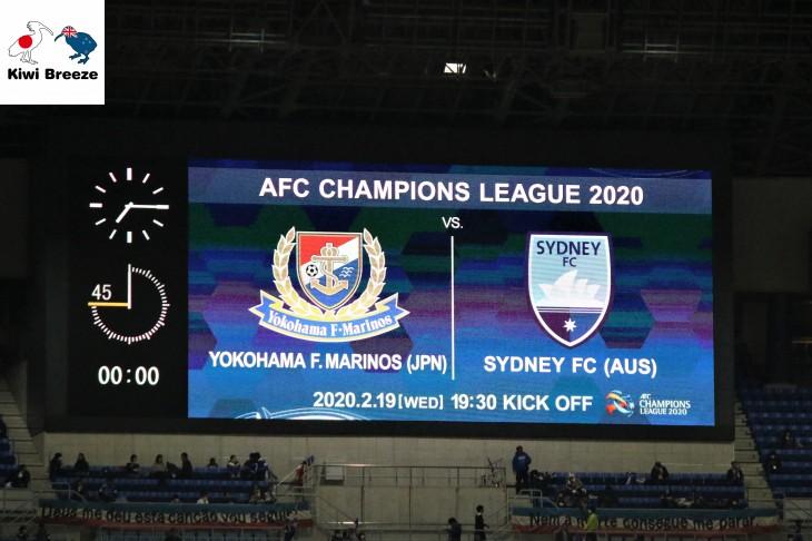 AFCチャンピオンズリーグ グループステージ MD2 横浜F・マリノス vs シドニーFC レポート
