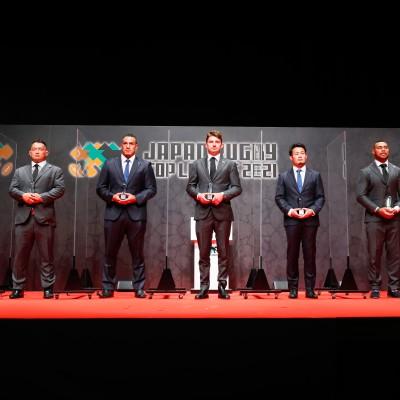 ジャパンラグビー  トップリーグ2021  年間表彰式